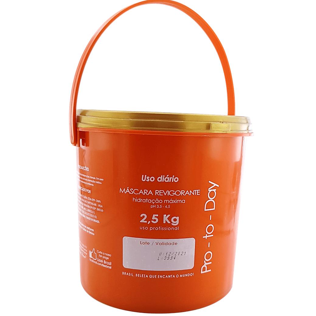 Máscara Revigorante Pro To Day 2,5 Kilo nova Embalagem