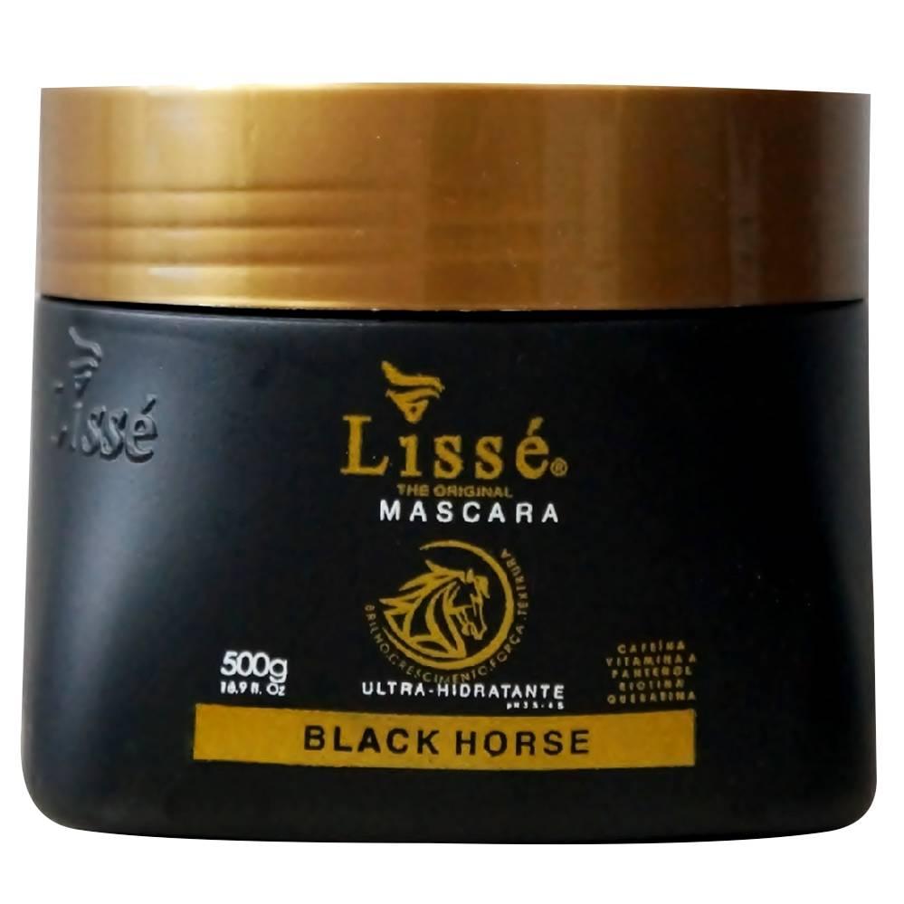 Máscara Hidratante Black Horse 500g Lissé - Estimula o crescimento