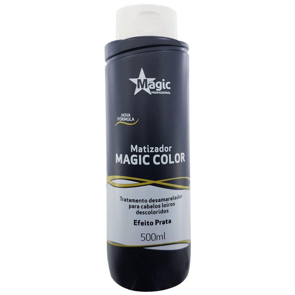 Matizador Magic Color 3D Preto - Efeito Prata