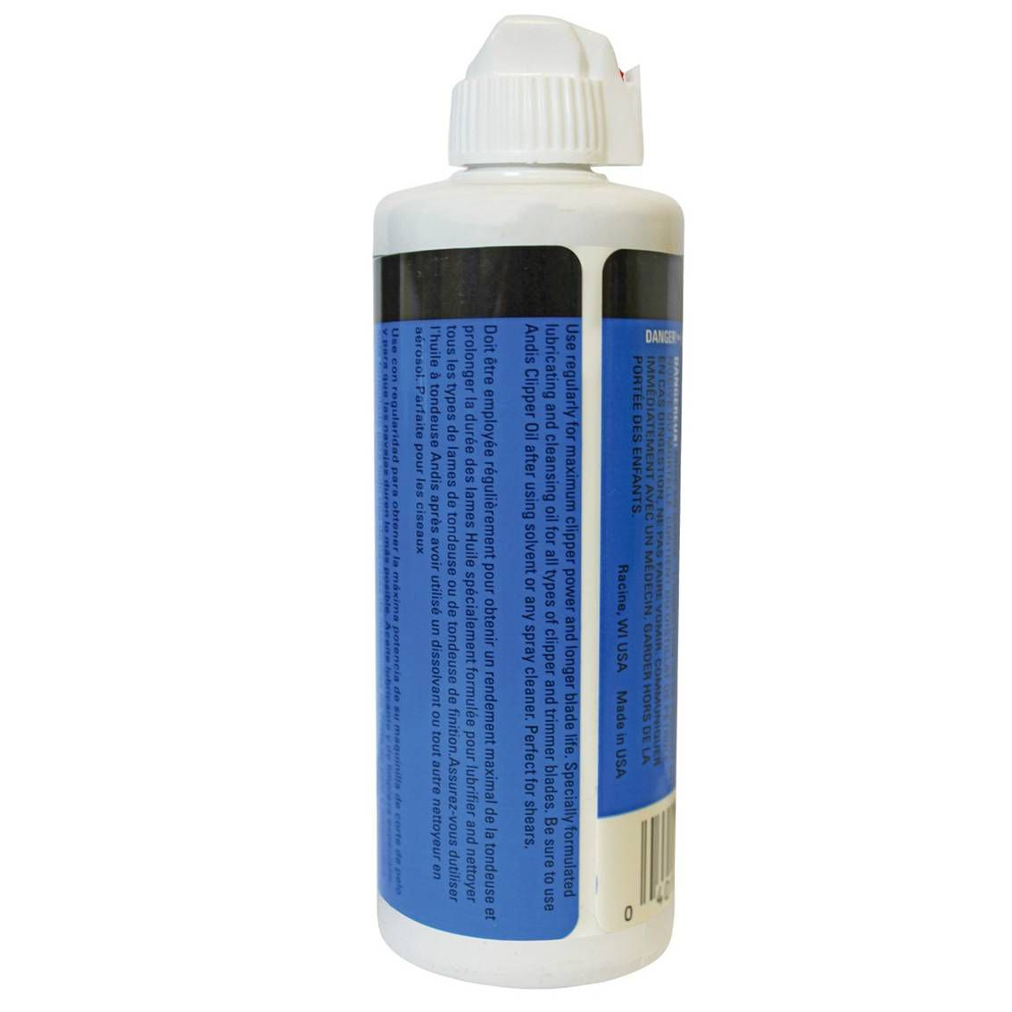 Óleo Lubrificante para Máquinas de Cortes, Lâminas e Tesouras 118ml - Clipper Oil Andis