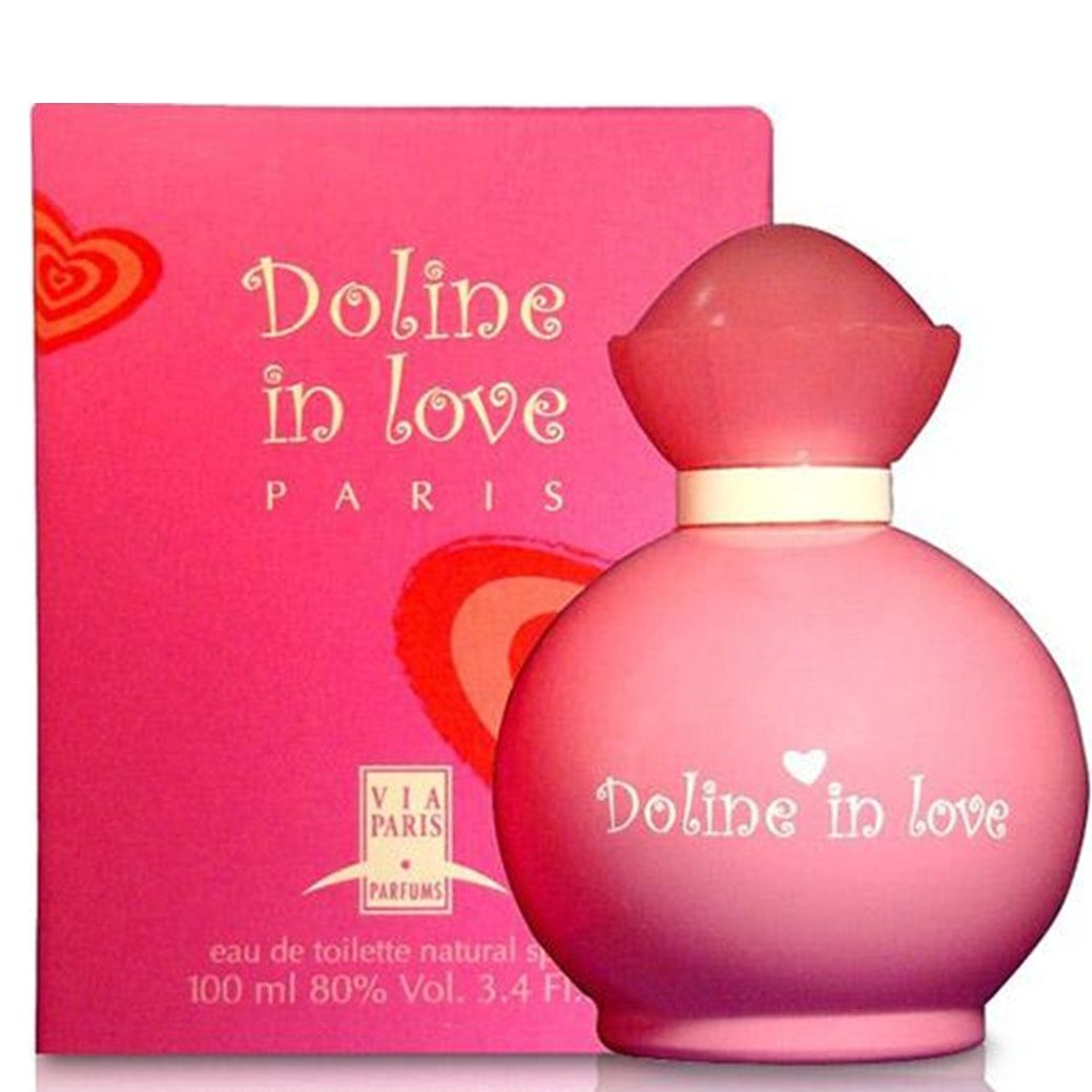 Perfume feminino Doline in Love Via Paris - Eau de Toilette 100 ml
