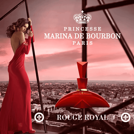 Perfume Feminino Rouge Royal Marina de Bourbon Eau de Parfum