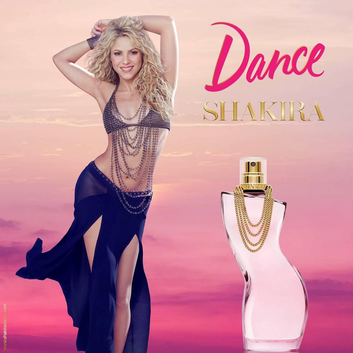 Perfume importado feminino Shakira Dance - Eau de Toilette 80 ml