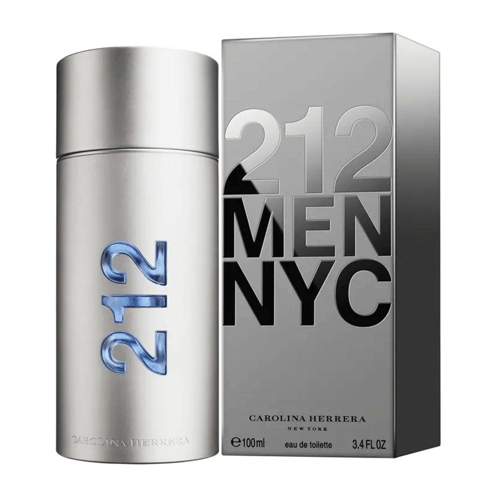 Perfume Masculino Carolina Herrera 212 NYC Eau de Toilette - Original
