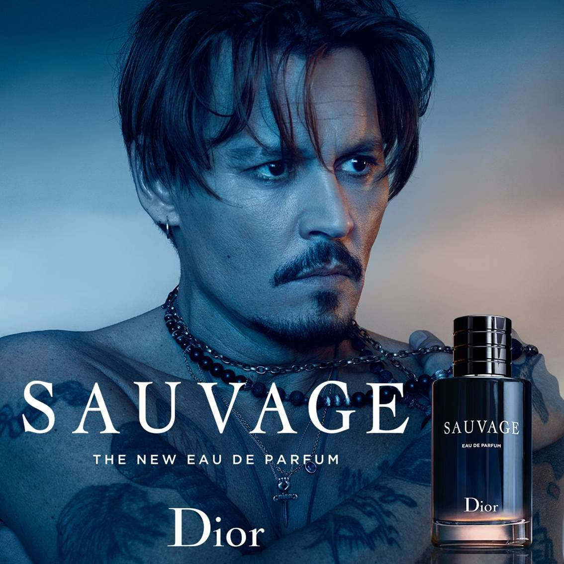 Perfume Masculino Importado Sauvage Dior Eau de Toilette 100 ml