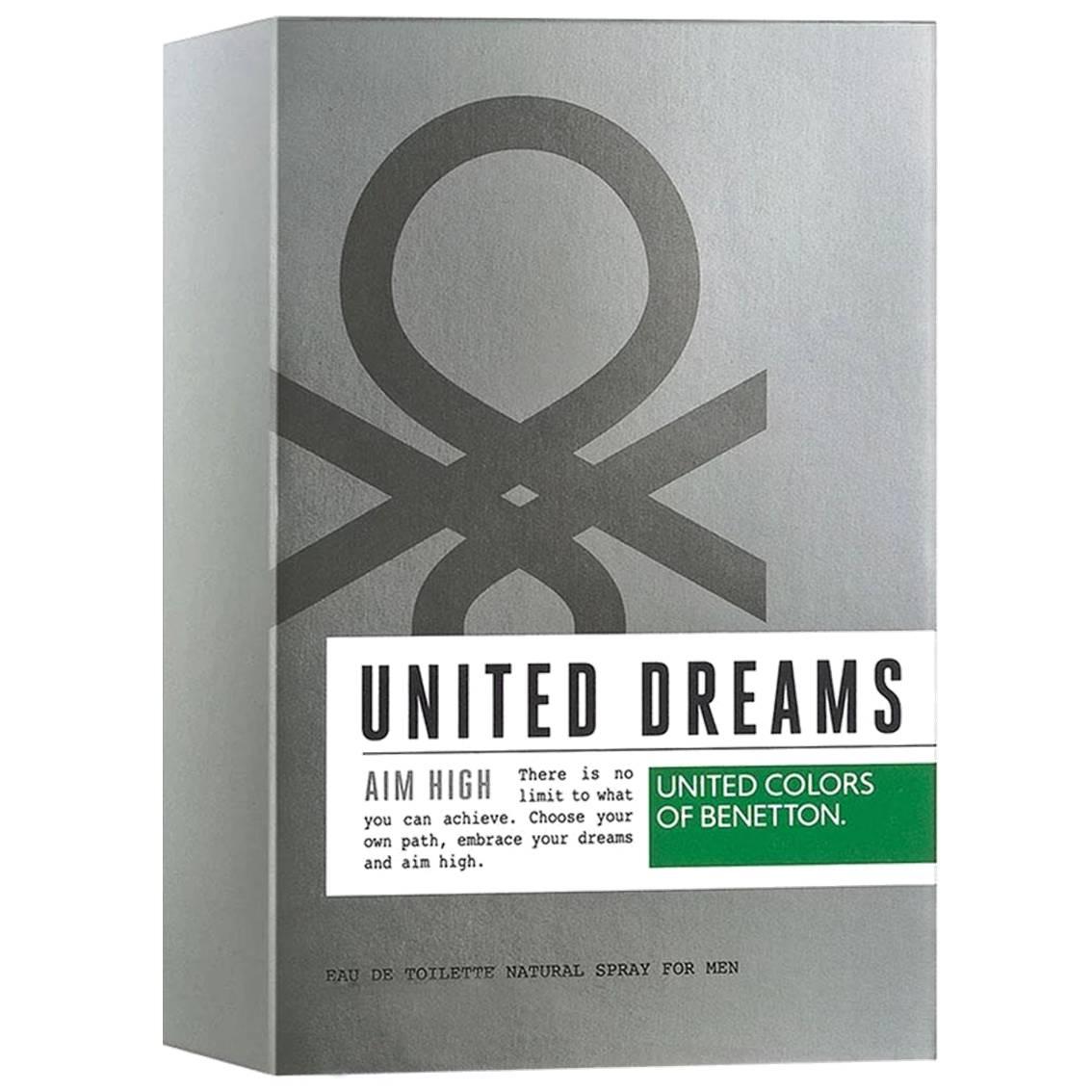 Perfume Masculino Importado - United Dreams Aim High Benetton Eau de Toilette 100 ml