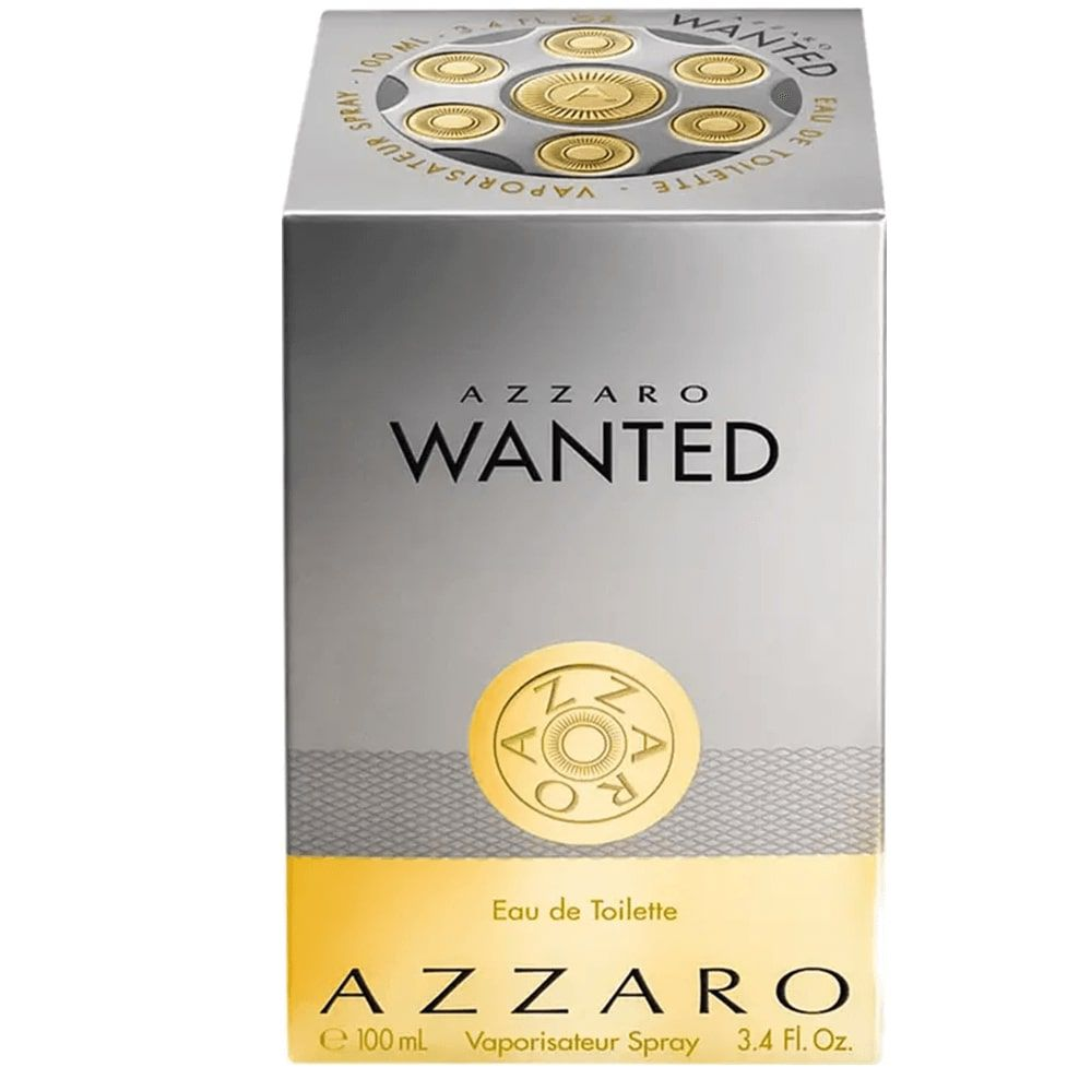 Perfume Masculino Wanted, da Azzaro – Original