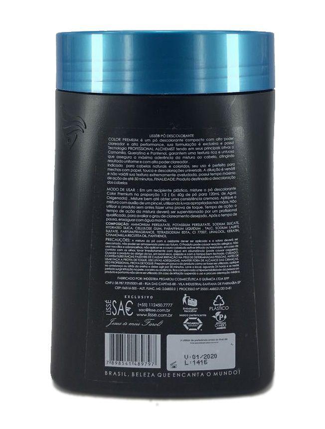 Pó Descolorante Color Premium Lisse 500 G