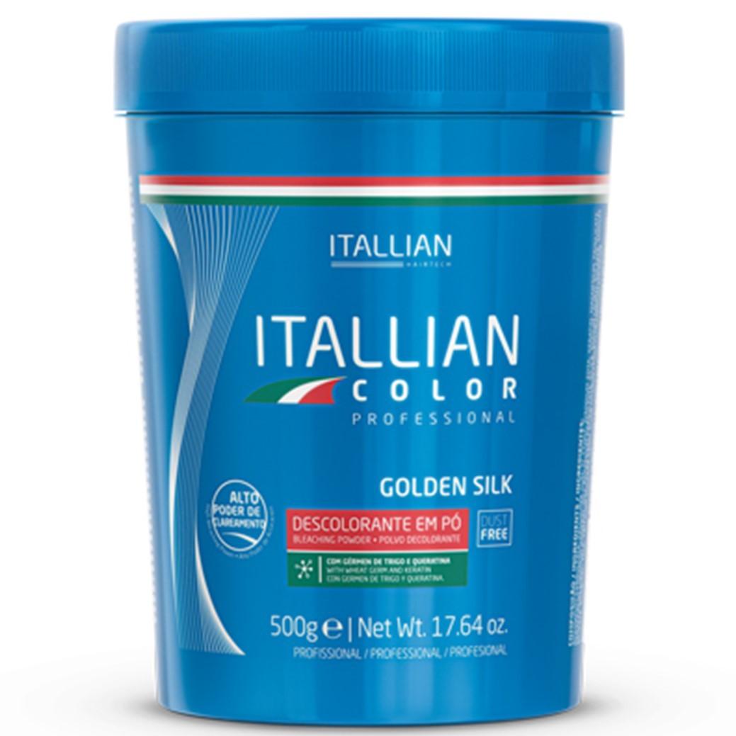 Pó Descolorante Itallian Color Golden Silk Pró Duster Free 500g