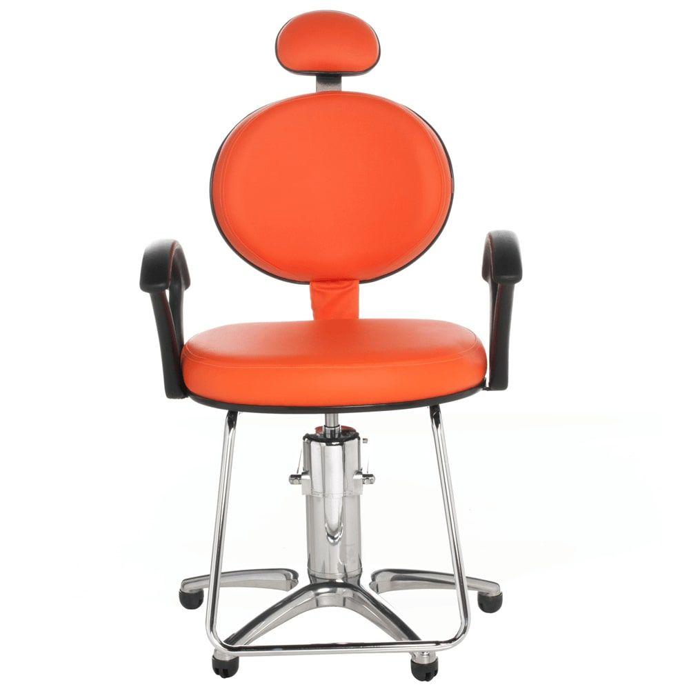 Poltrona Carol para Cabeleireiro e Barbeiro Standart (Fixa ou Reclinável) - Cromit