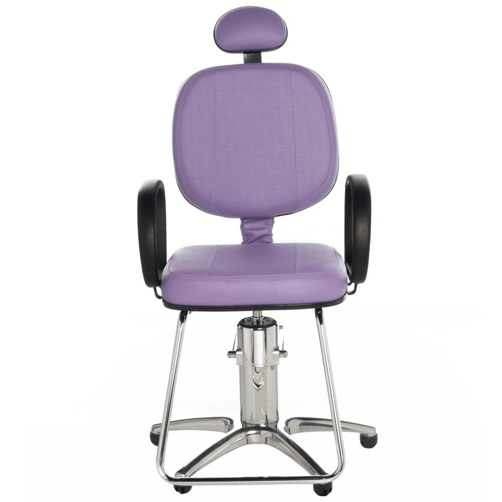 Poltrona Corsa Standard para Cabeleireiro e Barbeiro (fixa ou reclinável) - Cromit