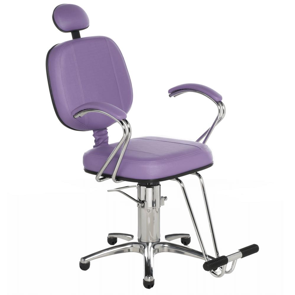 Poltrona Corsa Luxo para Cabeleireiros e Barbeiros (Fixa ou Reclinável)  – Cromit