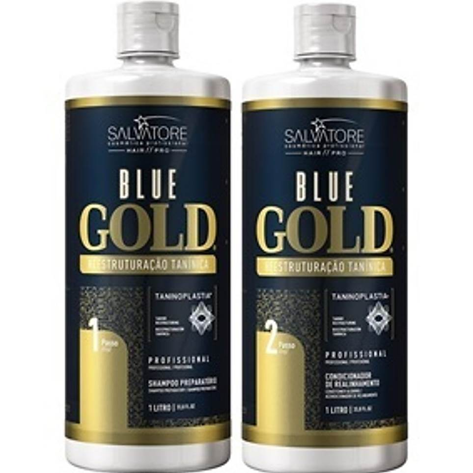 Progressiva Sem Formol Blue Gold Salvatore Completa