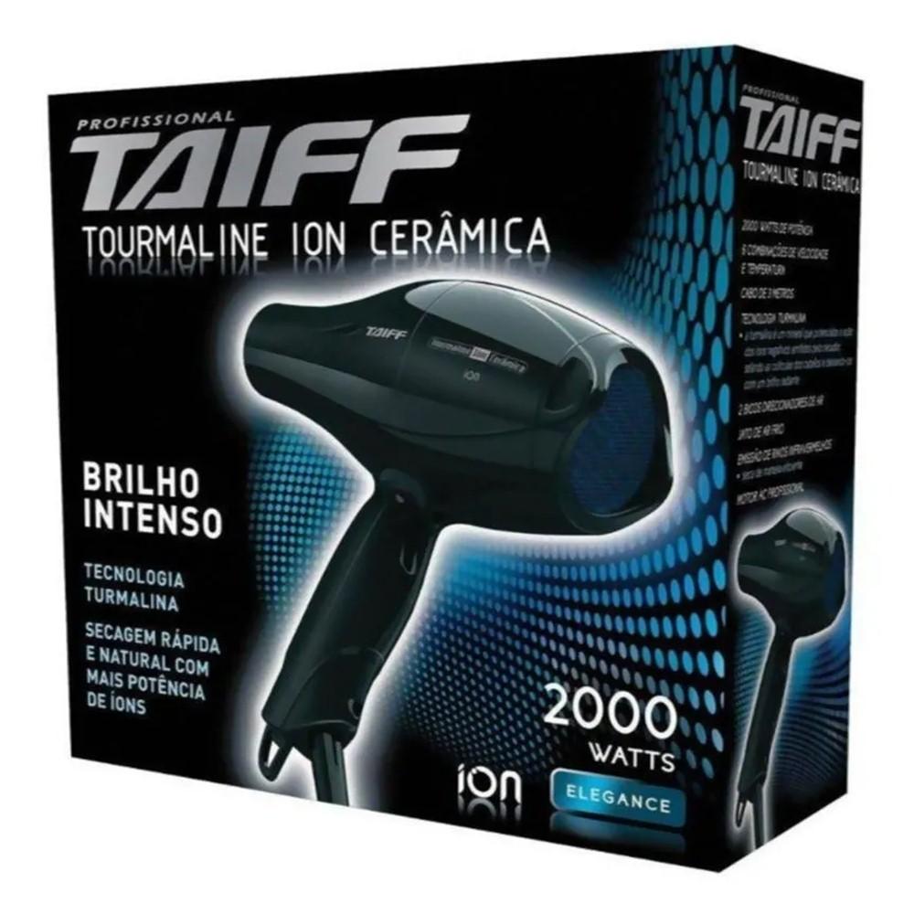 Secador de cabelos Profissional Taiff Tourmaline Íons Cerâmica 2000w
