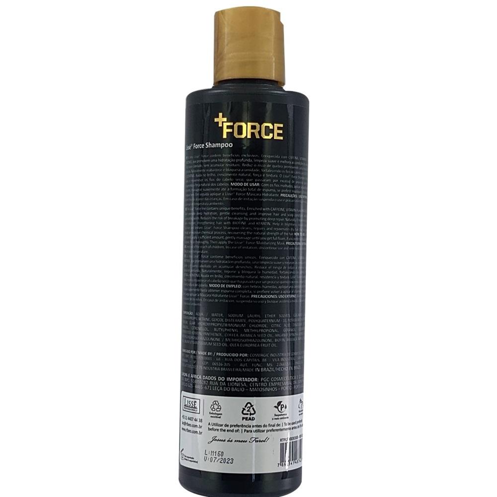 Shampoo de Tratamento Profissional  +FORCE Lissé 300ml