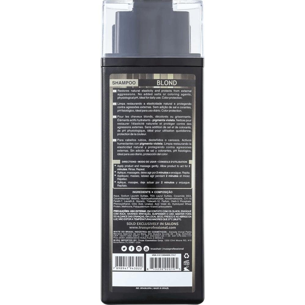 Shampoo Desamarelador Blond Truss – 300 ml