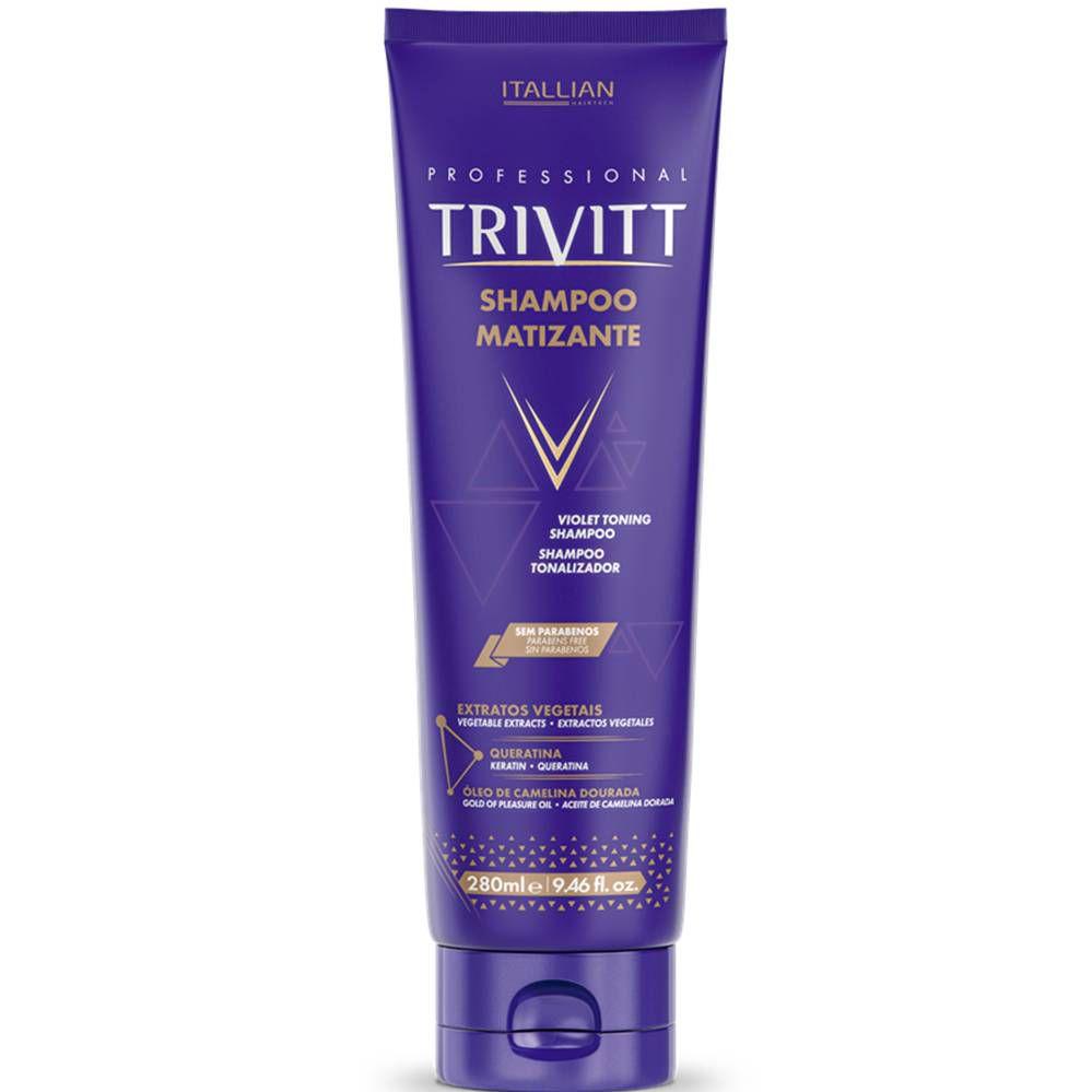 Shampoo Matizante Trivitt 280 ml