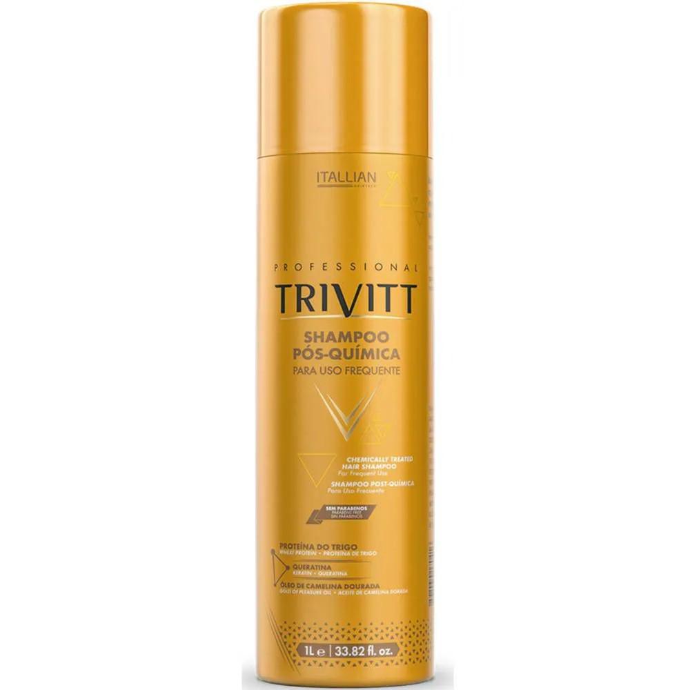 Shampoo Pós-Química Trivitt de Uso Frequente 1L