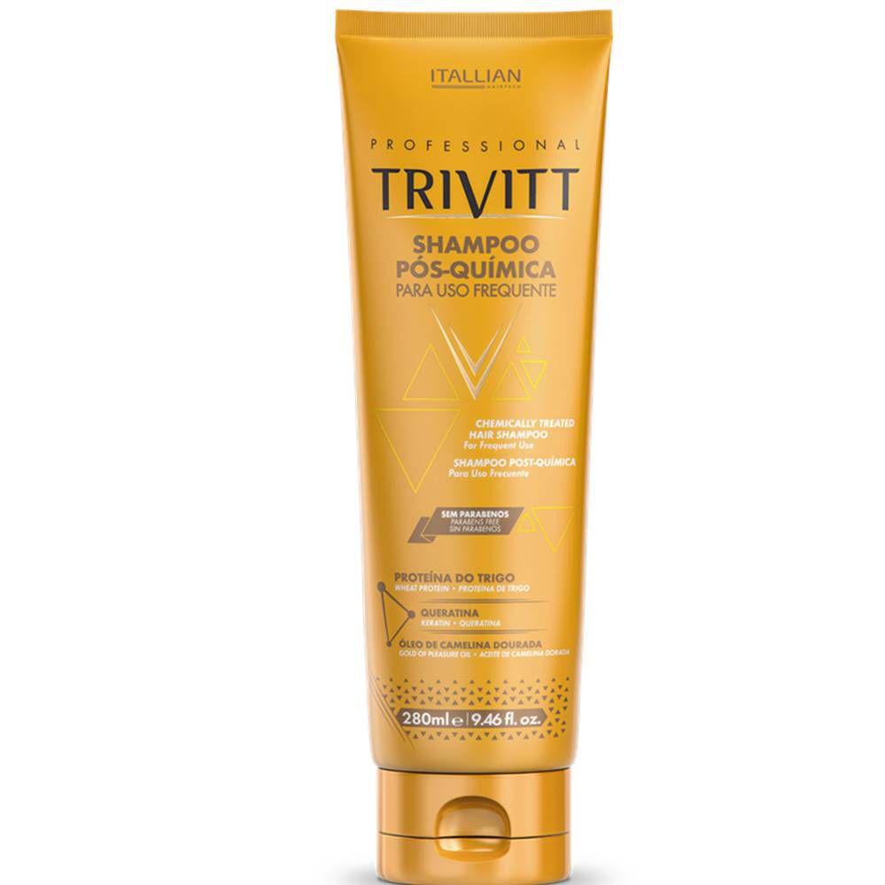 Shampoo Pós-Química Trivitt Uso Frequente 280ml