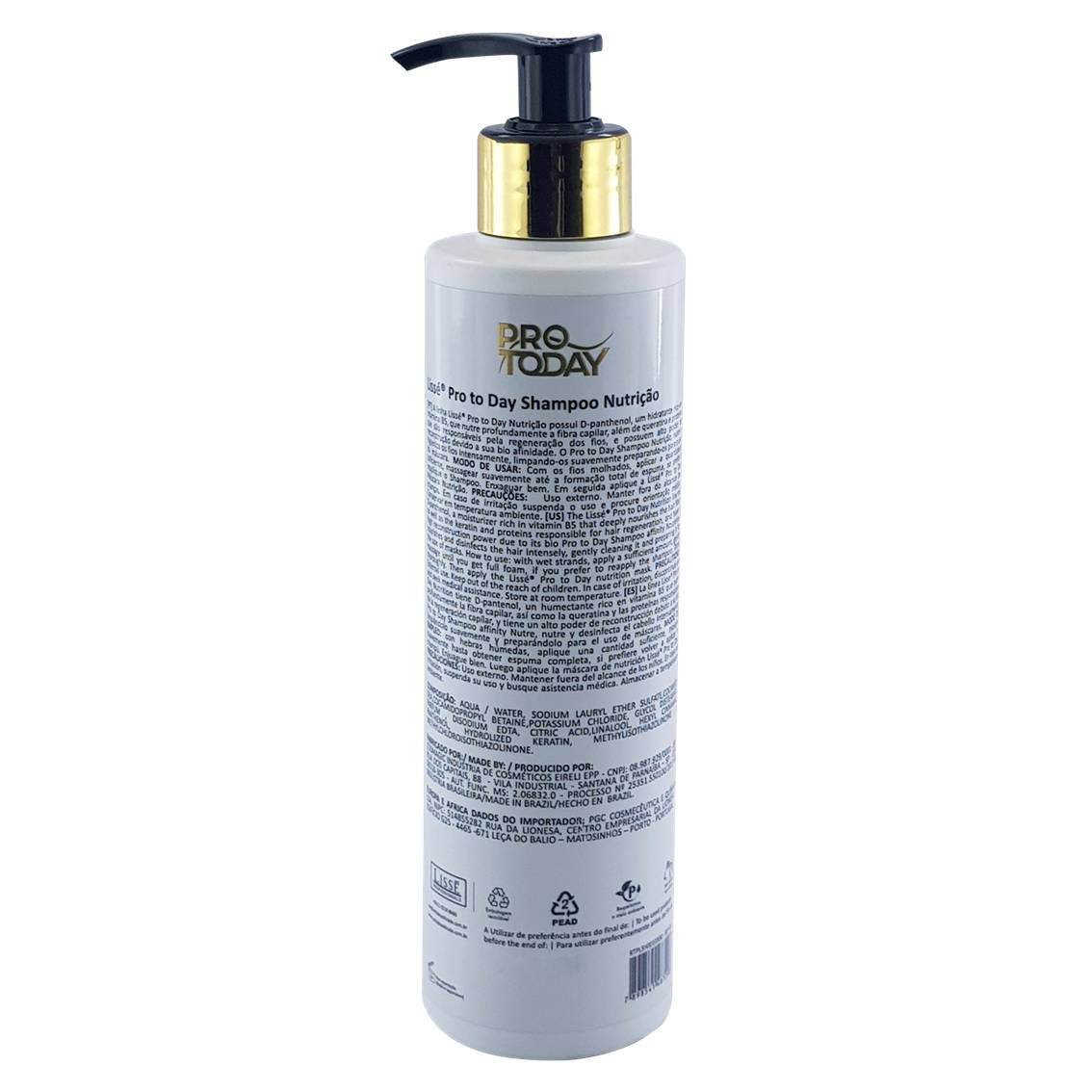 Shampoo de Nutrição Instantânea Pro To Day Lissé - 300 ml