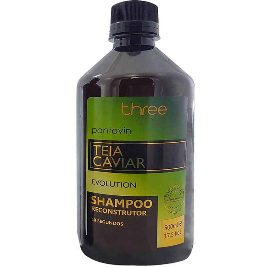 Shampoo Reconstrutor 60 segundos Teia Caviar – 500 ml