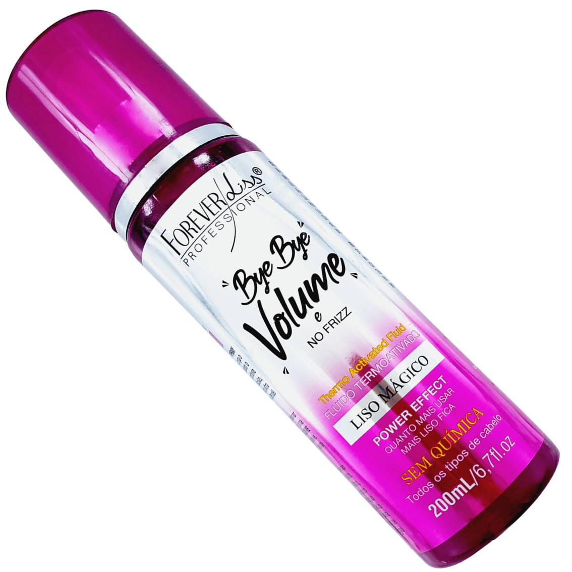 Spray Protetor Térmico Bye Bye volume Forever Liss – 200 ml