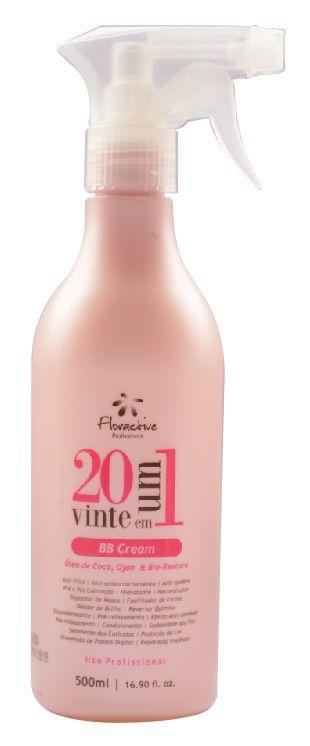 Tratamento Restaurador 20 em 1 Floractive BB Cream – 500 ml