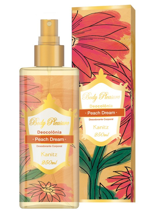 Deo Colônia Body Pleasure Peach Dream 250ml