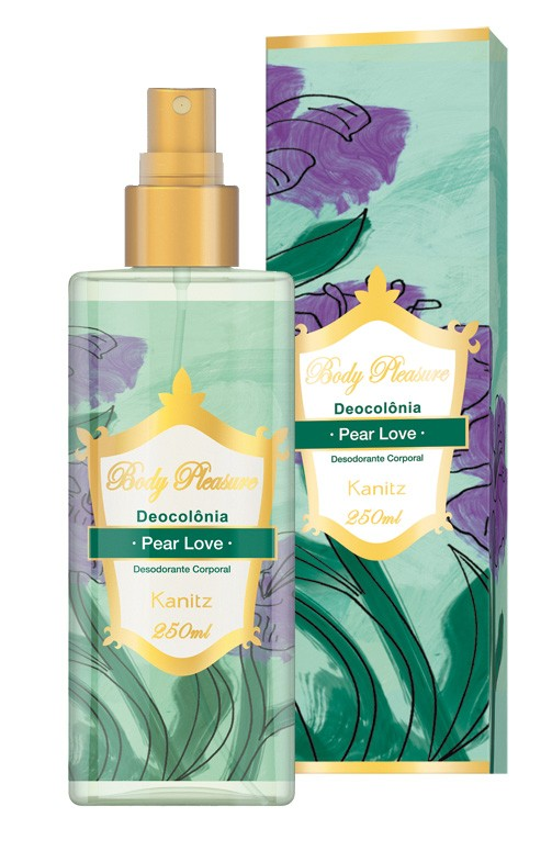 Deo Colônia Body Pleasure Pear Love 250ml