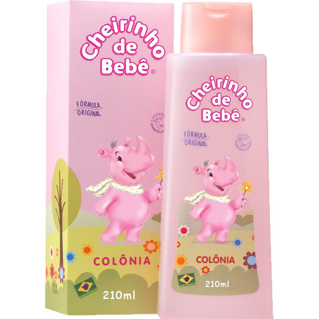 Colônia Cheirinho de Bebê 210 ml