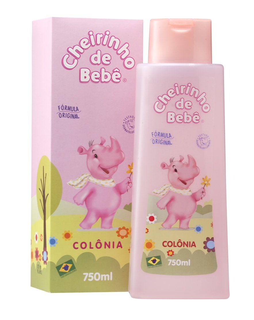 Colônia Cheirinho de Bebê 750 ml