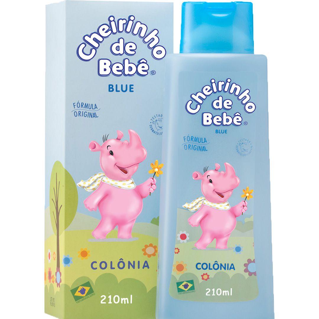 Colônia Cheirinho de Bebê Blue 210 ml