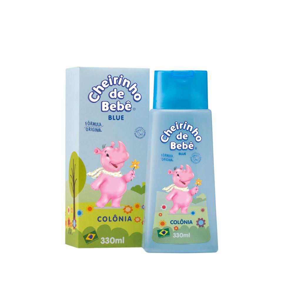 Colônia Cheirinho de Bebê Blue 330 ml