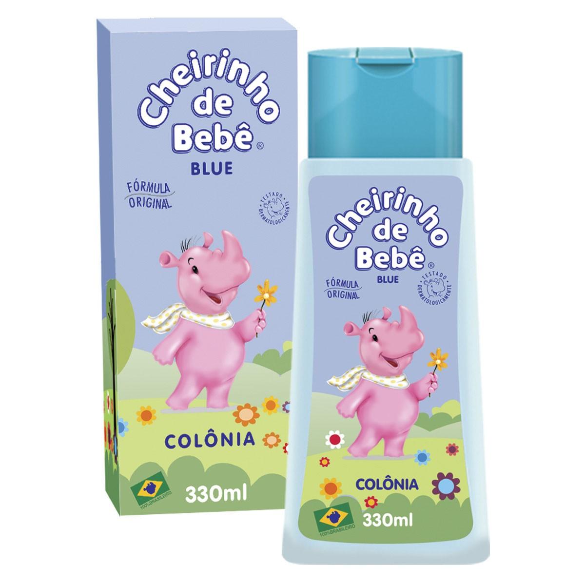 Colônia Cheirinho de Bebê Blue 330ml