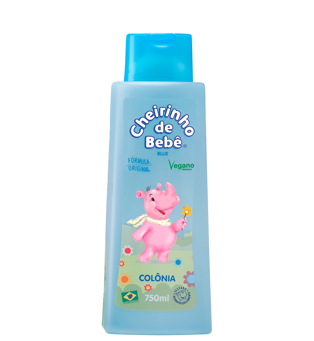 Colônia Cheirinho de Bebê Blue 750 ml