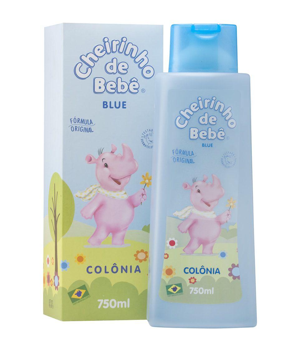 Colônia Cheirinho de Bebê Blue 750ml
