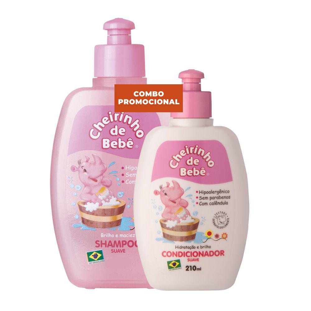Combo Promocional - Shampoo 430 e Condicionador Cheirinho de Bebê 210 ml