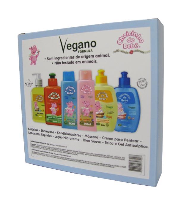 Combo Promocional - Shampoo Cab. Cacheados 210ml e Condicionador Cheirinho de Bebê 210ml