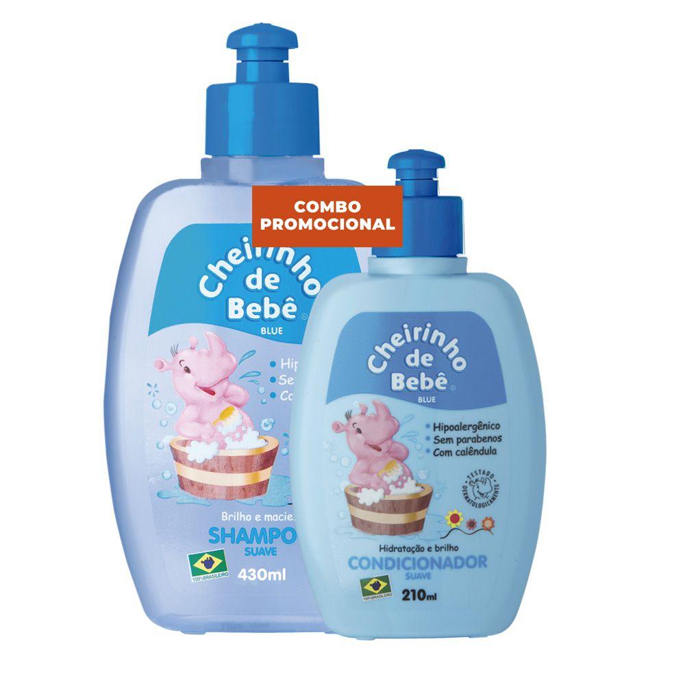 Combo Promocional - Shampoo Blue 430 e Condicionador Cheirinho de Bebê  210ml