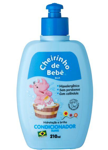 Condicionador Cheirinho de Bebê Blue 210ml