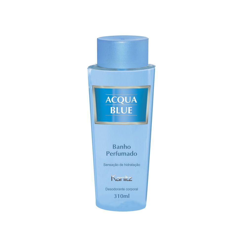 Deo Colônia Acqua Blue Banho Perfumado 310 ml