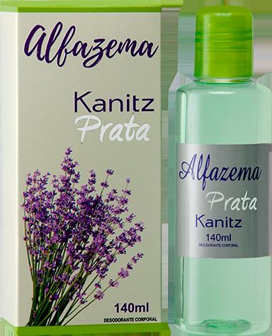 Deo Colônia Kanitz Prata Alfazema 140ml