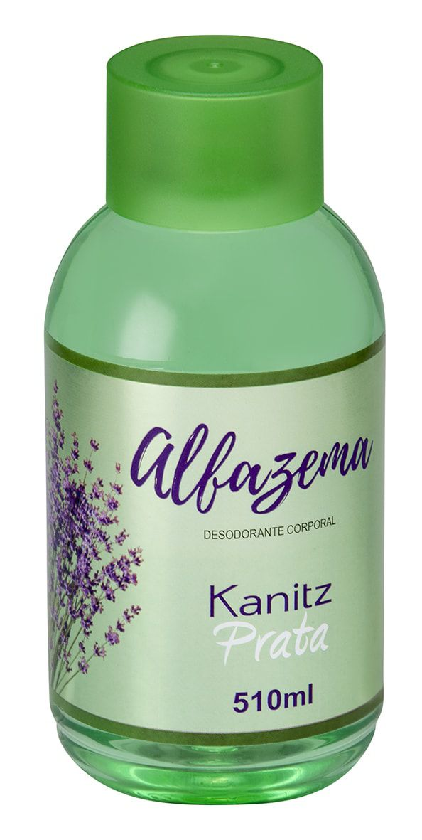 Deo Colônia Kanitz Prata Alfazema 510ml