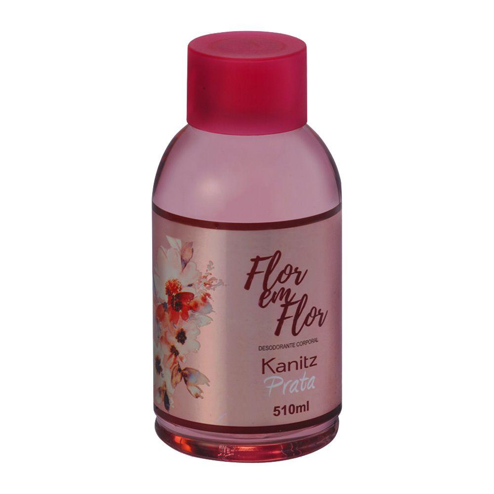 Deo Colônia Kanitz Prata Flor em Flor 510ml