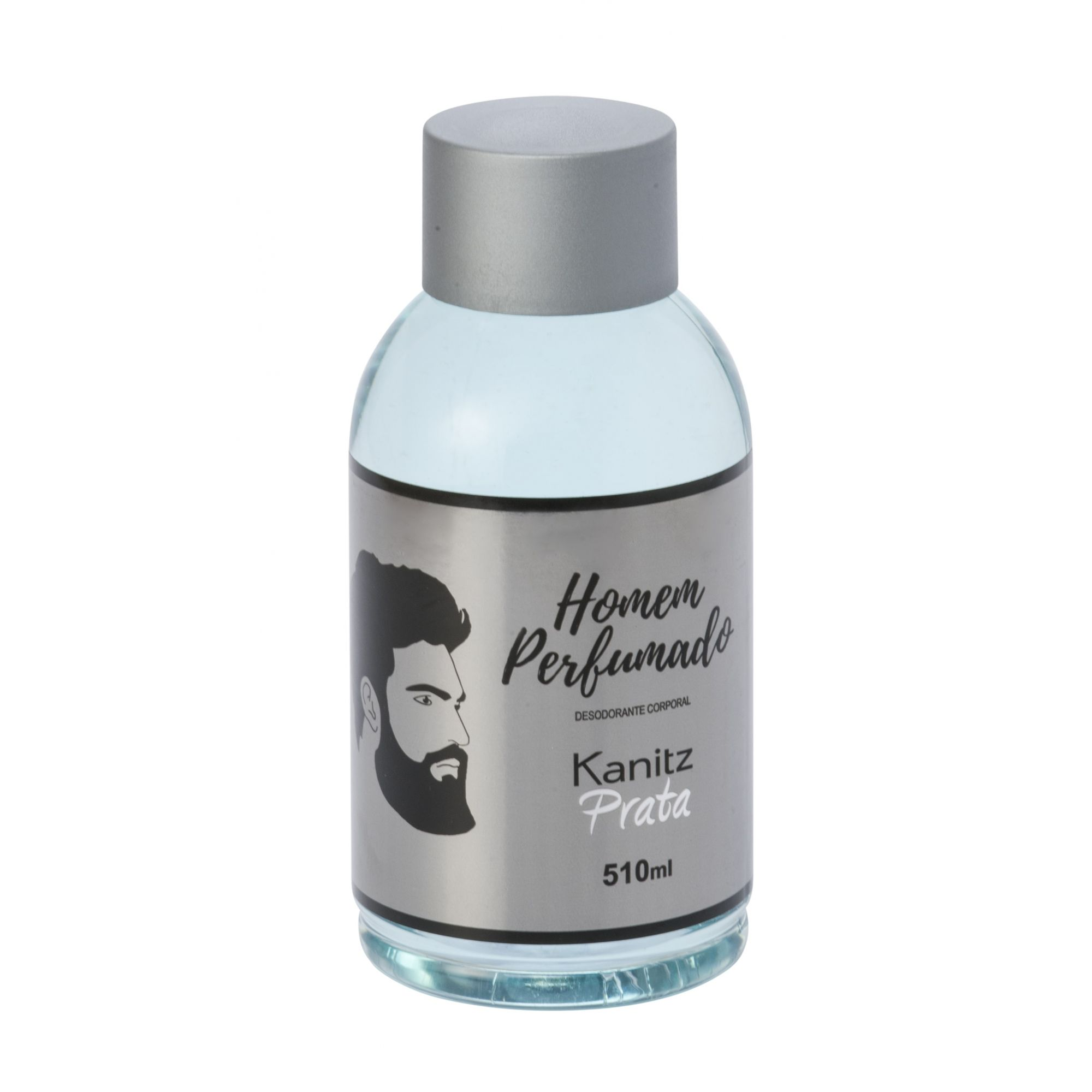 Deo Colônia Kanitz Prata Homem Perfumado 510ml