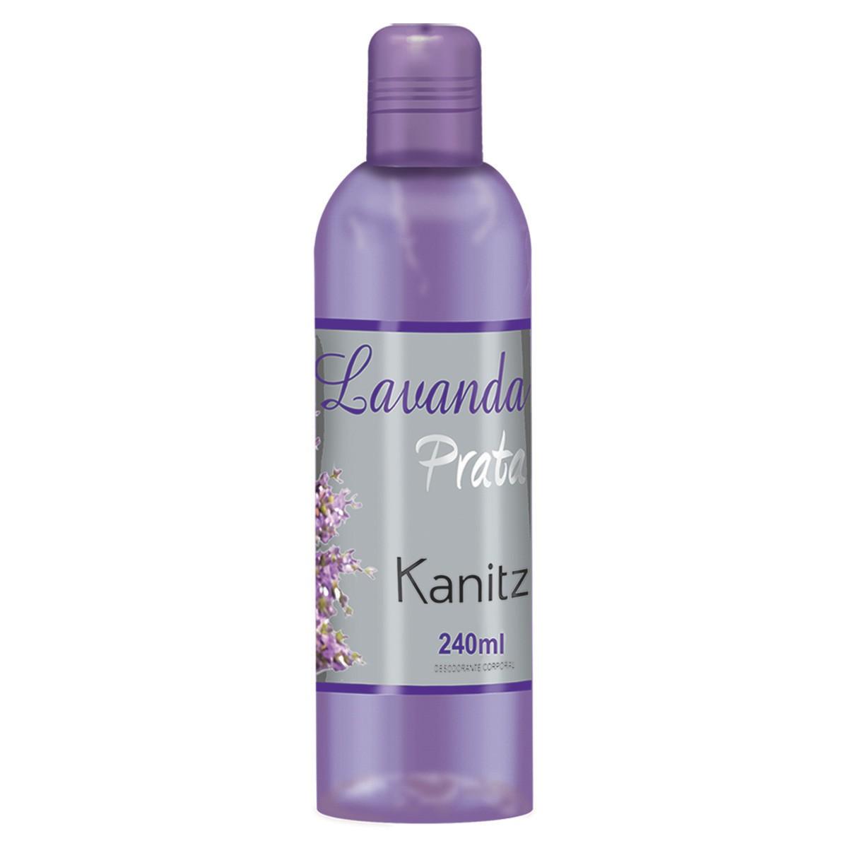 Deo Colônia Kanitz Prata Lavanda 240ml