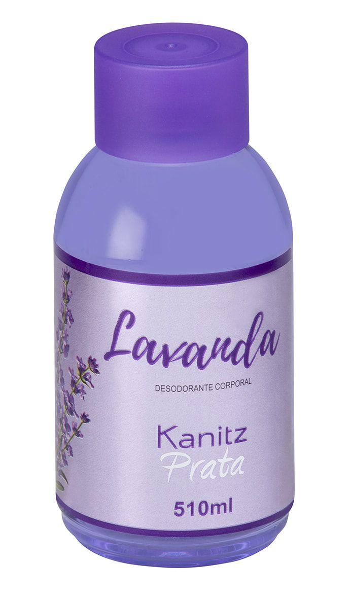 Deo Colônia Kanitz Prata Lavanda 510ml
