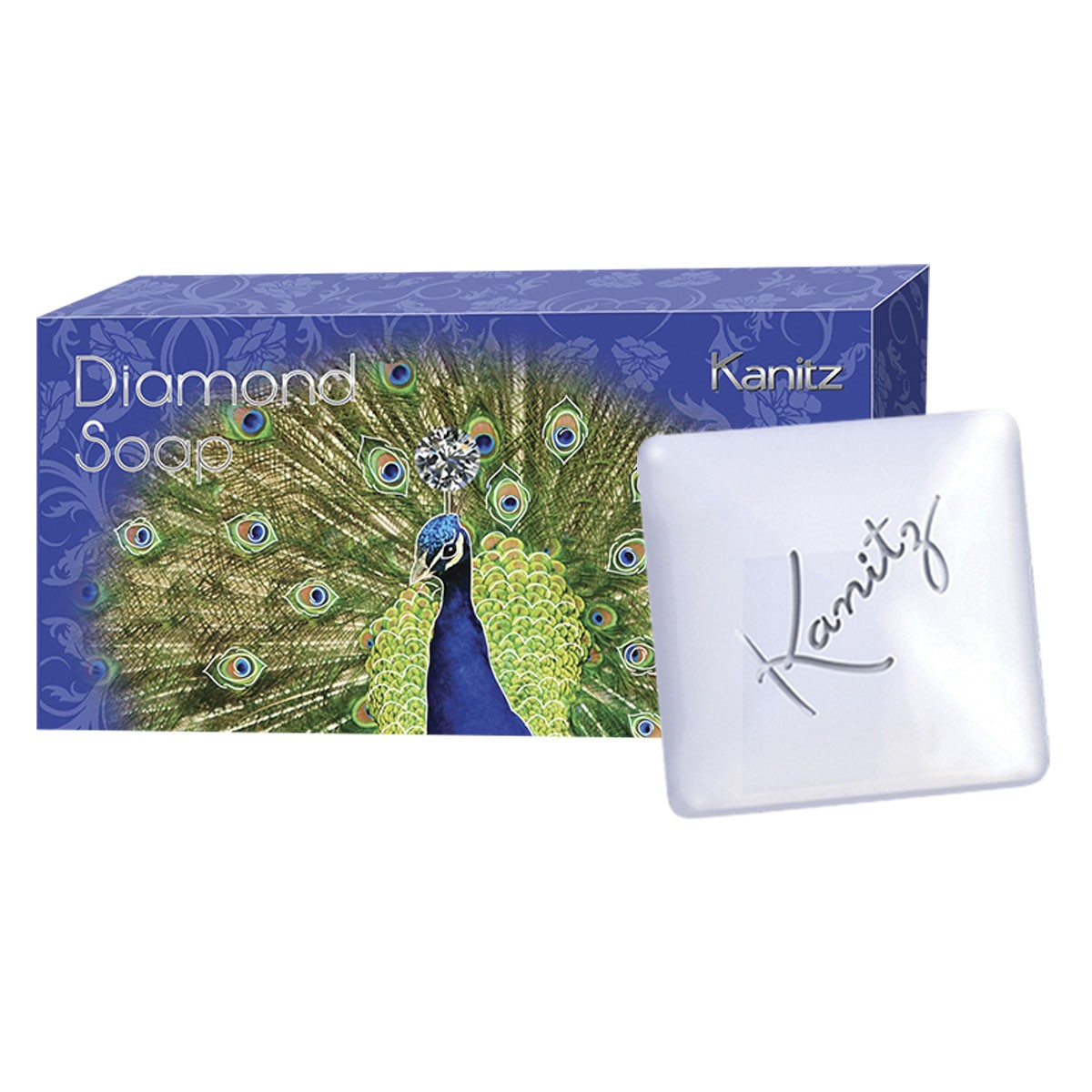 Estojo Sabonete Diamond 2x155g