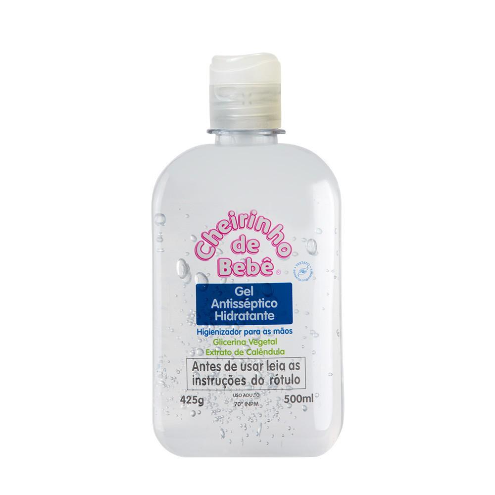 Gel Antisséptico Hidratante Cheirinho de Bebê 500 ml