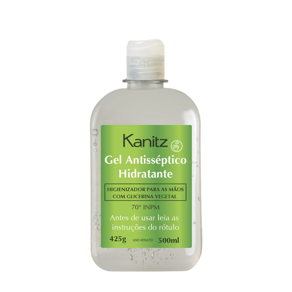 Gel Antisséptico Hidratante Kanitz 500ml